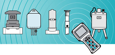 GammaTag RFID tags on process equipment